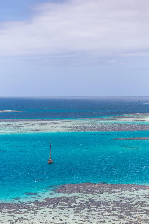 La Buse voilier lagon nouvelle calédonie ilôt platier corail grand sud